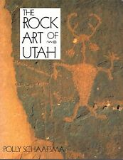 The Rock Art of Utah by Polly Schaafsma (2002, Paperback) ~ Read Once