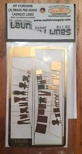 BAR MILLS 49 HO scale Laundry Lines - etched Brass Kit         MODELRRSUPPLY-com