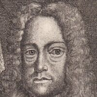 Portrait XVIIIe Charles VI De Habsbourg Empereur Saint Empire Roi Hongrie 1744