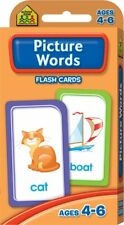 PICTURE WORDS Flash Cards Suitable for Kids Ages 4 - 6 Early Learning Hinkler