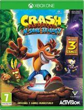Crash BANDICOOT: N-sano Trilogia (Xbox Gioco) * One ottime condizioni *