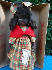 """Lenci Naomi Caribbean 18"""" Doll Made in Italy with Tags"""