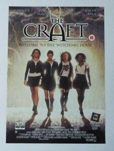 The Craft Promo Video Shop Original Movie Poster