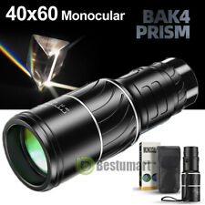 40X60 Zoom Optical HD Lens Monoculars BAK4 Prism FMC Day&Night Version Telescope