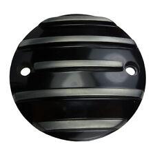 COPERCHIO Accensione pointcover nero a costine per HARLEY DAVIDSON XL DAL 04