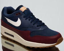 super popular 27f43 2d6b0 Nike Air Max 1 Men s Lifestyle Shoes Navy Team Red 2018 New Sneakers AH8145- 400