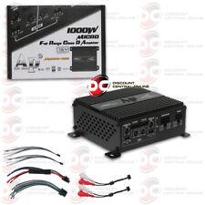 AUDIOPIPE APMCRO-4060 MICRO 4-CHANNEL CAR AUDIO AMP AMPLIFIER 1000W