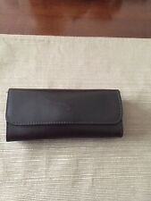 WILSONS The Leather Experts Brown Sunglass Eyewear Snap Case.