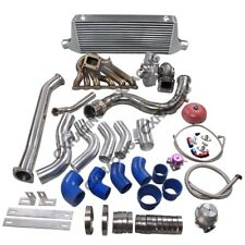Turbo Manifold Downpipe Intercooler Kit For Subaru BRZ Scion FRS 2JZ-GTE Swap...