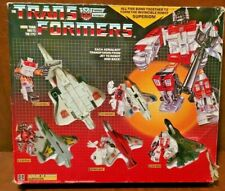 TRANSFORMERS ORIGINAL G1 AERIALBOT SUPERION GIFTBOX US SELLER 9VINTAGE 1985)