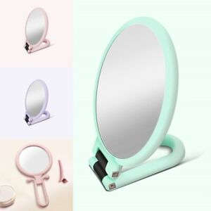 Magnifying Makeup Mirror Beauty Table Mirrors Hand Folding Vanity Mirror