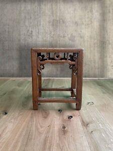 Asia Hocker China Möbel Beistelltisch alt chinesisches Holz Ulme AsienLifeStyle