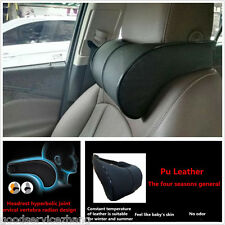 Black Car Ergonomic Creative Memory cotton Headrest  Neck Rest Cushion Pillows