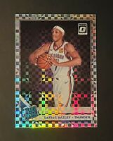 2019-20 Donruss Optic Checkerboard Prizm Darius Bazley RC Rookie SSP #156