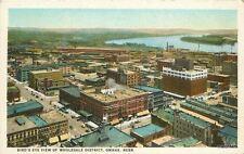1920s Birdseye View Wholesale District Omaha Nebraska Teich Mc Laughlin 8435