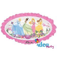 PALLONCINO mylar Disney SPECCHIO PRINCIPESSE 79 cm Addobbi Feste Compleanno