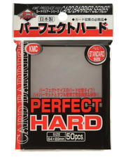 KMC Perfect Hard Card 50 Sleeves Guard Protector Pokemon cards etc