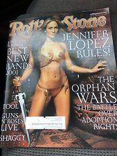 Rolling Stone Magazine, Jennifer Lopez, Feb 15, 2001 with Shakira, White Stripes