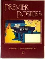Premier Poster Auction Catalogue 1985 PAI-I Bechstein Signed Jack Rennert