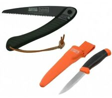 "Bahco Laplander Folding Saw, 7-1/2"" Blade and Carpenter Mora Multi Purpose Knife"