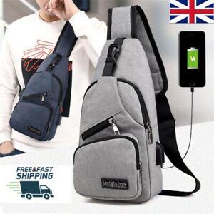 Mens Womens Canva Waist Bum Bags Fanny Pack Travel Money Belt Pouch Wallets UK