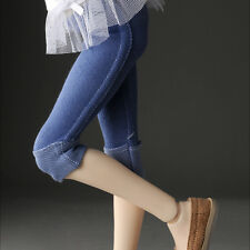 Dollmore 1/4 BJD MSD - Roll-Up Leggings (Blue)