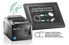 Star Thermal Receipt Printer TSP143IIIU, USB- direct iPad / iPhone charging