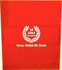 10 Jahre Ruco SBB CFF 5tlg Wagenset Walter Waibel AG Zürich OVP 1:87 H0 HD2 å √