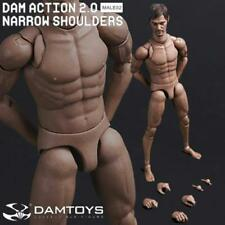 "DAM DAMToys 1/6 Scale 12"" Narrow Shoulders Male Body Figure 2.0 MALE02 Daryl"