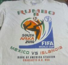 Rumbo Mexico Soccer FIFA World Cup South Africa 2010 Charlotte NC (L) SS T-Shirt