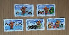 Complete used RF / France stamp set - 2006 Happy Christmas & New Year
