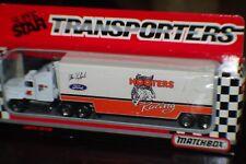 MATCHBOX 1991 ALAN KULWICKI HOOTERS TRANSPORTER HAULER MIB
