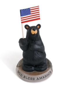 Bearfoot God Bless America Big Sky Carvers Demdaco # 3005080226