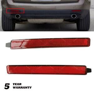 Rear Bumper Reflector For 2007-2012 GMC Acadia 2009-2012 Traverse 2010-2016 SRX