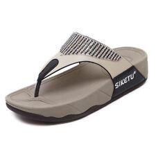 Women's Ladies Fitflop sandals fit flop  mule summer sandals Toe Post size