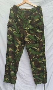 British Army Lightweight DPM Woodland camouflage combat trousers Size 80/96/112