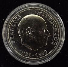 Médaille François Mitterrand 1981-1995 Président de La République neuve BU