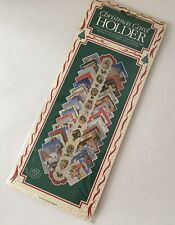 Christmas Card Holder Paper Cardboard New Vintage Made In England