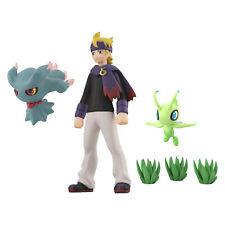 Bandai Pokemon Scale World JOUTO Morty & Misdreavus & Celebi 1/20 Figure Set