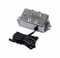 RCA  Indoor  TV  2 Port Distribution Amplifier  1 pk