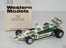 WESTERN MODELS 1/43 WRK26 - 1980 SAUDIA LEYLAND WILLIAMS FW07B #27 ALAN JONES
