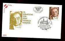 Austria 1990 Josef Fredrich Perkonig, Writer FDC #C2985