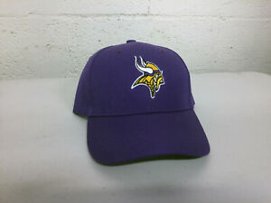 Minnesota Vikings Cap Hat Embroidered Game Men Home Adjustable Curved Minn MN