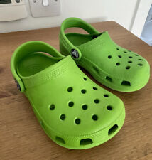 Kids Green CROCS Casual/Beach/Water Holiday Clogs/Footwear - Size 8UK Infant