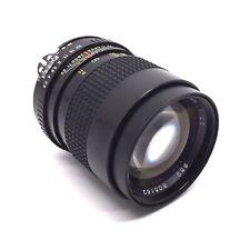 Tokina EL 135mm F2.8 Manual Focus Prime Lens - Nikon AI Fit - Iris Stuck Open