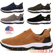 Mens Sport Shoes Outdoor Waterproof Walking Hiking Trainers Sneakers Size Casual