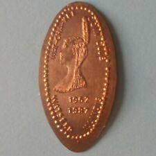 Wat-Cha-Kee Coin Club Watseka Illinois 1962 1987 Indian Elongated Copper Penny