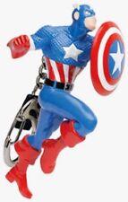 MARVEL Universe Captain AMERICA Keychain Keyring Extreme Steve Rogers S4 Retired
