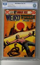 Weird Western Tales # 14 - CBCS 9.0 White Pages - Deaths of Iron Jaws & Butcher