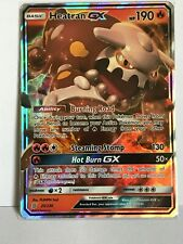 Heatran GX ULTRA RARE 25/236 SM Unified Minds Set Pokemon TCG Card NM HOLO